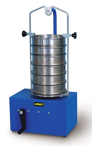 Hand Operated Sieve Shaker SV010