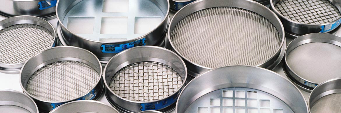 Woven wire mesh & perforated plate Test Sieves